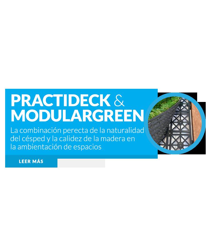 Practideck y Modulargreen